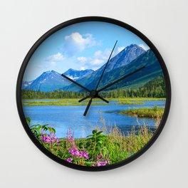 God's Country - II Wall Clock