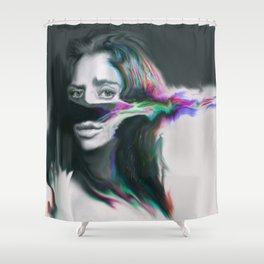Fibro Shower Curtain