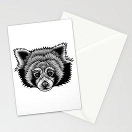 Red panda - ink illustration Stationery Cards