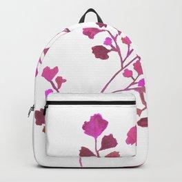 Pink Fern Backpack