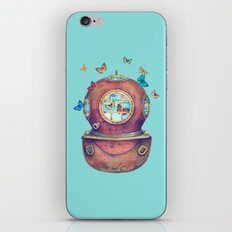 Inner Space - colour option iPhone & iPod Skin