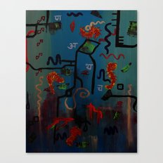 Oceanography Canvas Print