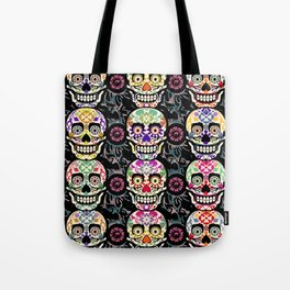 Happy calaveras Tote Bag