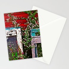 Window Flowers Stationery Cards