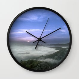 Above the Cloud, Under the Sky Wall Clock