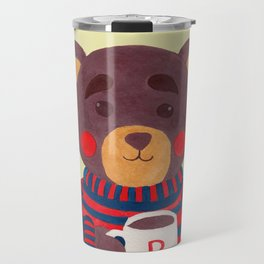 Winter Season is Coming (Bear Version) Travel Mug