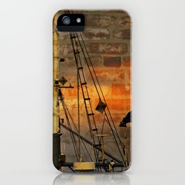 Industrial Hodge Podge iPhone Case