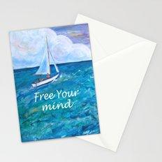 Gone Sailing Stationery Cards