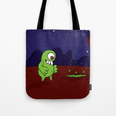 Space Character Tote Bag