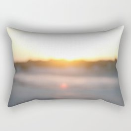 """Dusk at Tybee Island, Georgia"" by Simple Stylings Rectangular Pillow"