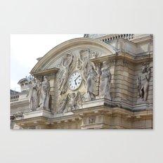 Quel heure est? Saint Germain Canvas Print