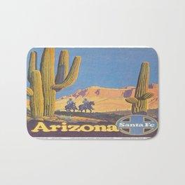 Vintage poster - Arizona Bath Mat