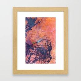 Copper Etching Plate 2 Framed Art Print