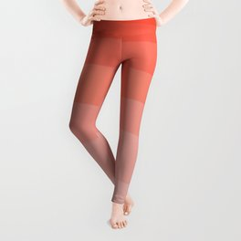 Living Coral Ombre Leggings