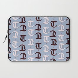 cross the t's and dot the i's Laptop Sleeve