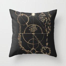 Vibration of Balance Throw Pillow