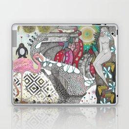 """Flamingo""  Illustrated print Laptop & iPad Skin"
