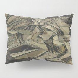 Marcel Duchamp's Nude Descending a Staircase, No. 2 Pillow Sham