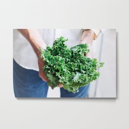 Beautiful Food by Adolfo Félix Metal Print
