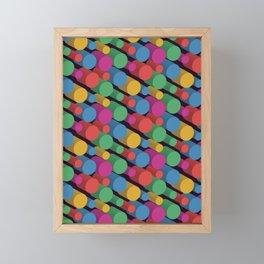 3D X Pipes II Framed Mini Art Print