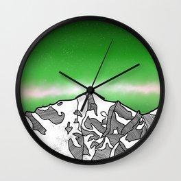 Hkakabo Razi Mountain Wall Clock