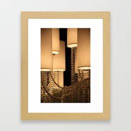 Fancy Light Framed Art Print
