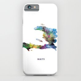 Haiti iPhone Case