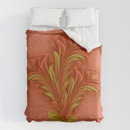 Color Meditation - Orange  Comforters