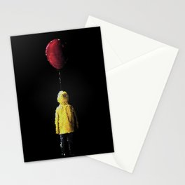 It Georgie Stained Glass Stationery Cards