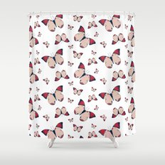 Spring Butterfly (Pattern) Shower Curtain