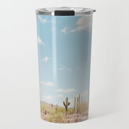 Saguaros in the Desert Travel Mug