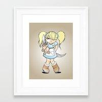 grumpy Framed Art Prints featuring Grumpy by Cloz000