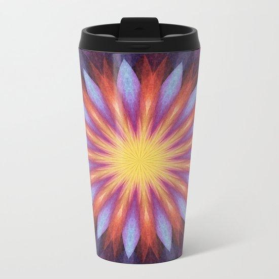 Flowernova Metal Travel Mug