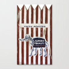 Jumbo Peanuts Canvas Print