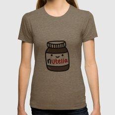 Nutella Womens Fitted Tee Tri-Coffee MEDIUM