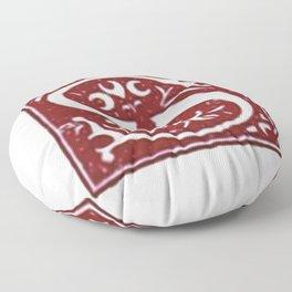 Old letter Floor Pillow