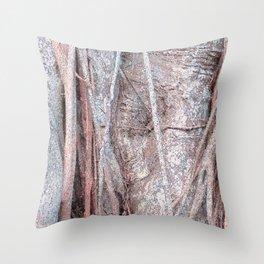 Strangler Fig Abstract 2 Throw Pillow