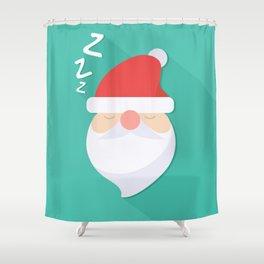 Wake up Santa Shower Curtain