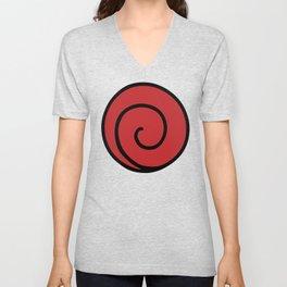 Uzumaki Clan Logo - Naruto Unisex V-Neck