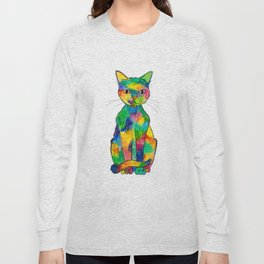 Rainbow Cat Long Sleeve T-shirt