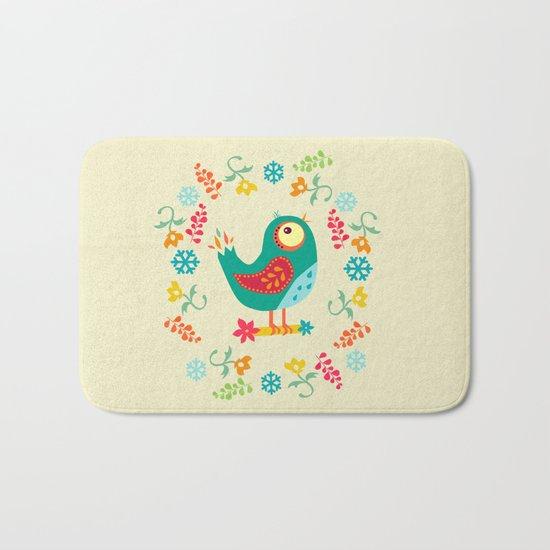Birdy Bath Mat