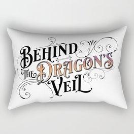 Behind the Dragon's Veil (The Dragarri Series by Christina Jolly) Rectangular Pillow
