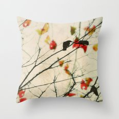 Love Song Throw Pillow