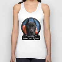 pit bull Tank Tops featuring Pit Bull by Galen Valle