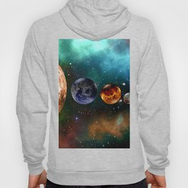 God and the Cosmos by GEN Z Hoody