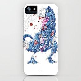 Zombie Saurus T shirt Halloween Kids Dinonsaur T rex Gifts iPhone Case