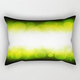 banner of yellow defocus light Rectangular Pillow