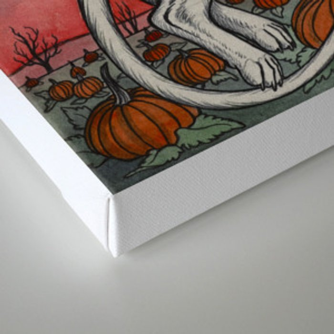 Spirits Of All Hallows Eve Canvas Print