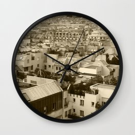 Rooftops of Paris 3 Wall Clock