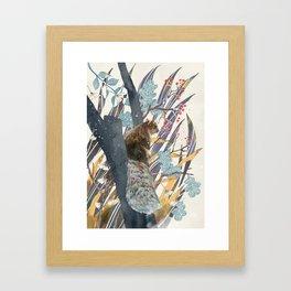 waiting for autumn Framed Art Print